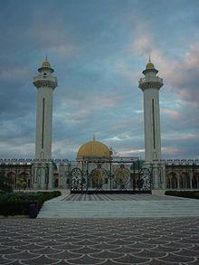 Mausoleum burquibah di monastir