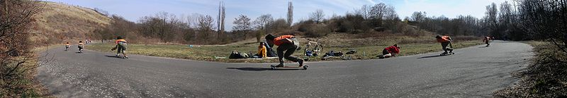 Downhill Speedboarding