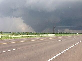 Moore, Oklahoma - 2013 tornado southwest of Moore