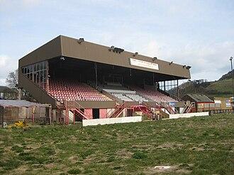 Athletic Ground (Scarborough) - Image: Mc Cainstadmainstand