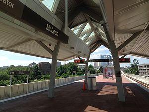 McLean station - McLean platform