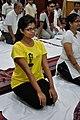 Medha Ganguly - Vajrasana - International Day of Yoga Celebration - NCSM - Kolkata 2015-06-21 7345.JPG