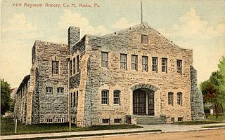 Media Armory United States historic place