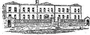 Mendicity Institution - The Mendicity Institution in 1890