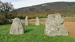 Menhirs of Corcelles-près-Concise
