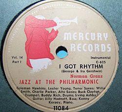 Mercury Records I Got Rhythm.JPG