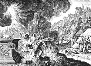 Aaron's Sons, Nadab and Abihu, Destroyed by Fi...