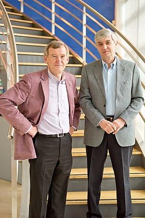 Meridian Audio - Meridian Audio founders Allen Boothroyd and Bob Stuart