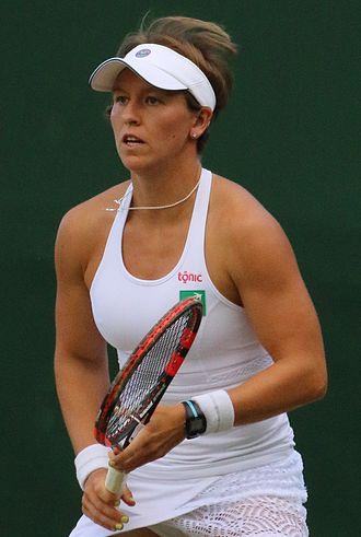 An-Sophie Mestach - Mestach at the 2016 Wimbledon Championships