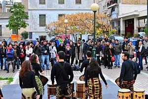 Metaxourgeio - Festival in Avdi Square in the heart of Metaxourgeio.