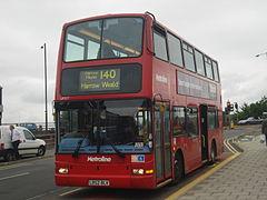 Metroline VP317 on Route 140, Wealdstone (Harrow & Wealdstone Station)