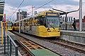 Metrolink units, Deansgate-Castlefield tram stop (geograph 4531885).jpg