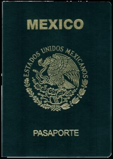 Mexican passport passport