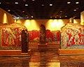 Mexico - Museo de antropologia - Murales de Los Bebedores.JPG