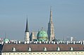 Michaelerkirche, Michaelertor, Stephansdom, Vienna 01.jpg
