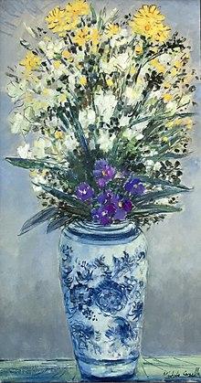 Composizione Floreale (1959), Collezione privata
