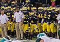 Michigan Wolverines sideline (8109099183a).jpg