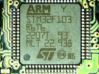 Microprocessor - STM32 microprocessor