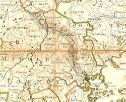 Middlesex Kanal (Massachusetts) harita, 1801.jpg