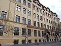 Mihály Fazekas high school, facade, 2016 Józsefváros.jpg