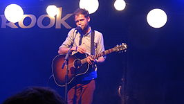 Mike Rosenberg performing at Southampton Brook music venue in January 2013 4.JPG