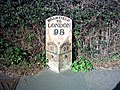 Milepost - A144 - Bramfield - geograph.org.uk - 235466.jpg