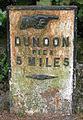 Milepost in Innellan - geograph.org.uk - 713170.jpg