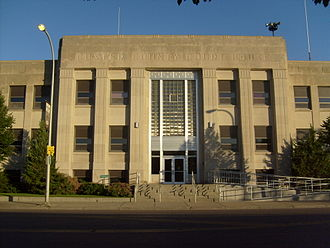 Custer County, Montana - Image: Miles City MT Custer County Courthouse
