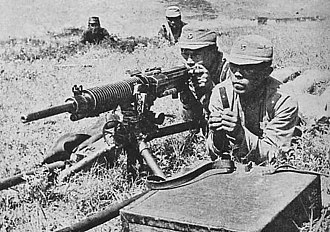 Manchukuo Imperial Army - Military exercise of Manchukuo Imperial Army