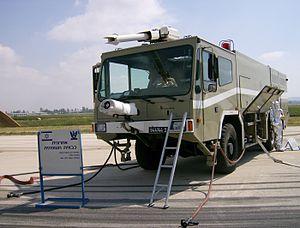 Kronenburg B.V. - Kronenburg B.V. military Airport crash tender, Israeli Air Force