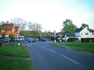 Milland village in the United Kingdom