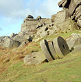 Millstones at Stanage Edge - Peak District, England.jpg