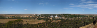 Mingenew, Western Australia - Current panorama of Mingenew, also taken from Mingenew Hill