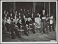 Ministers, verdragen, Bech, Bevin, Bidault, Boetzelaer van, Bestanddeelnr 136-0516.jpg