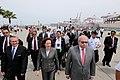 Ministros de Defensa de Perú y Ecuador, visitan las instalaciones del SIMA-Callao (8511356642).jpg