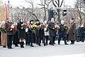 Ministru prezidents Valdis Dombrovskis piedalās ziedu nolikšanas ceremonijā pie Brīvības pieminekļa (6357974789).jpg