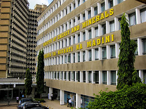 Ministry of Energy and Minerals - Image: Ministry of Energy and Minerals Building, Dar es Salaam, Tanzania
