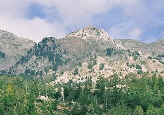 Munella - Mount Munella from Mirditë