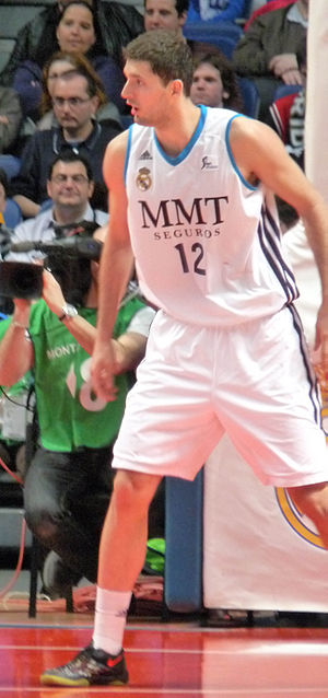 Nikola Mirotić - Mirotić with Real Madrid in 2013