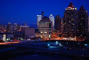 English: Picture of Mississauga Downtown