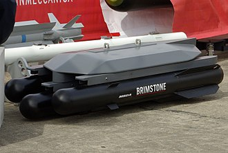 Anti-tank missile - The RAF's Brimstone missile is a fire and forget anti-tank missile.