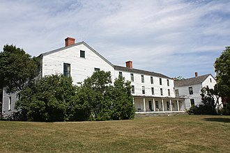 Mission House (Mackinac Island) - Mission House in 2011