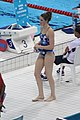Missy Franklin during warm up at the Aquatics Centre (7707260140).jpg