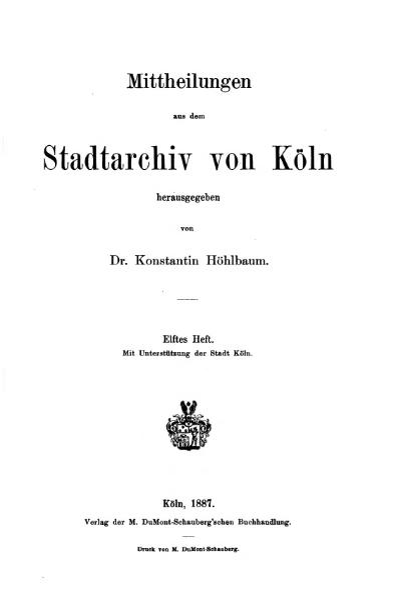 File:Mitteilungen aus dem Stadtarchiv von Köln 1887-11.djvu