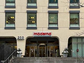 Moderna American biotechnology company