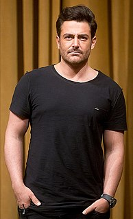 Mohammad Reza Golzar Iranian actor, singer, model and television host