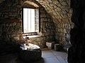 Monk cell in the Monastery of Deir Mar Elisha, Kadisha Valley, Lebanon.jpg