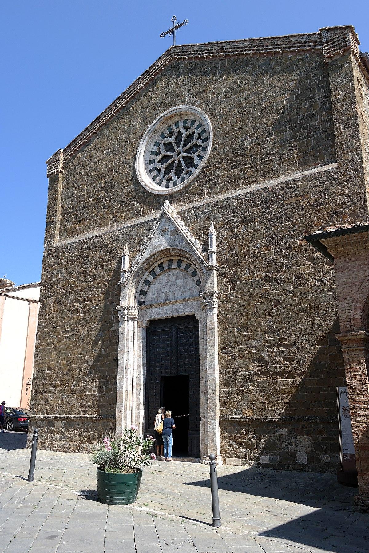 Chiesa Di Sant U0026 39 Agostino  Montalcino