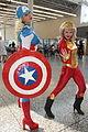 Montreal Comiccon 2015 - Captain America and Iron Man (19447380932).jpg