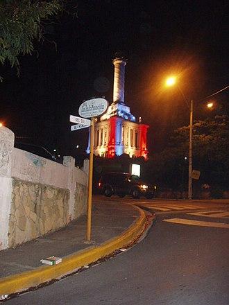 Monumento de Santiago - Image: Monumento a los Héroes de la Restauración 2007